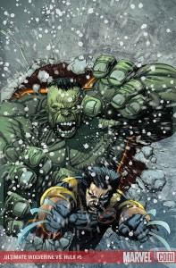 Ultimate Wolverine vs. Hulk # 5