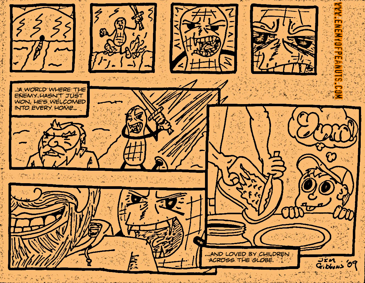 'EoP: The Webcomic' Part 2 with photocopy effect