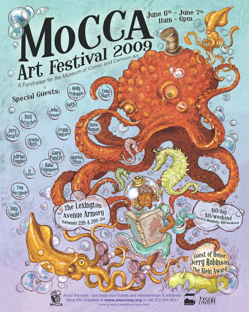 This past year's MoCCA poster.