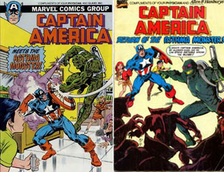 Captain America meets the Asthma Monster and the beast's return!