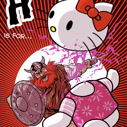Hagar vs. Hello Kitty