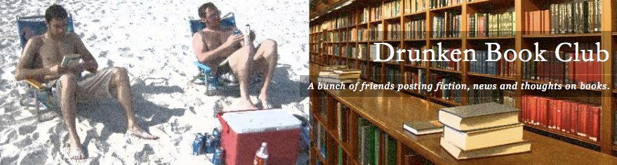The current intro image to www.DrunkenBookClub.com