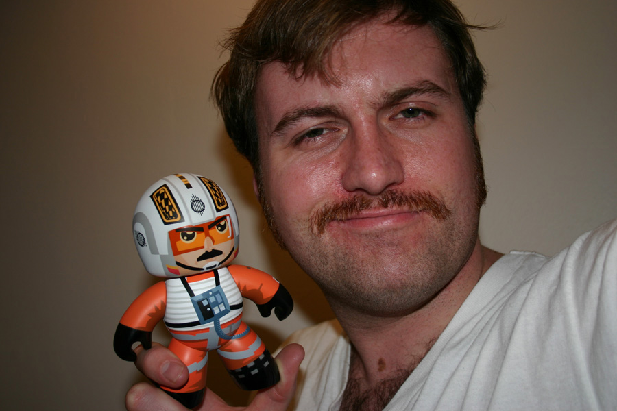 Jim Gibbons (and Biggs): Movember 24, 2009