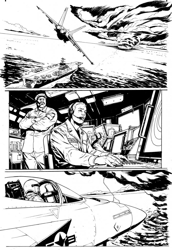 page 1 ink sample.