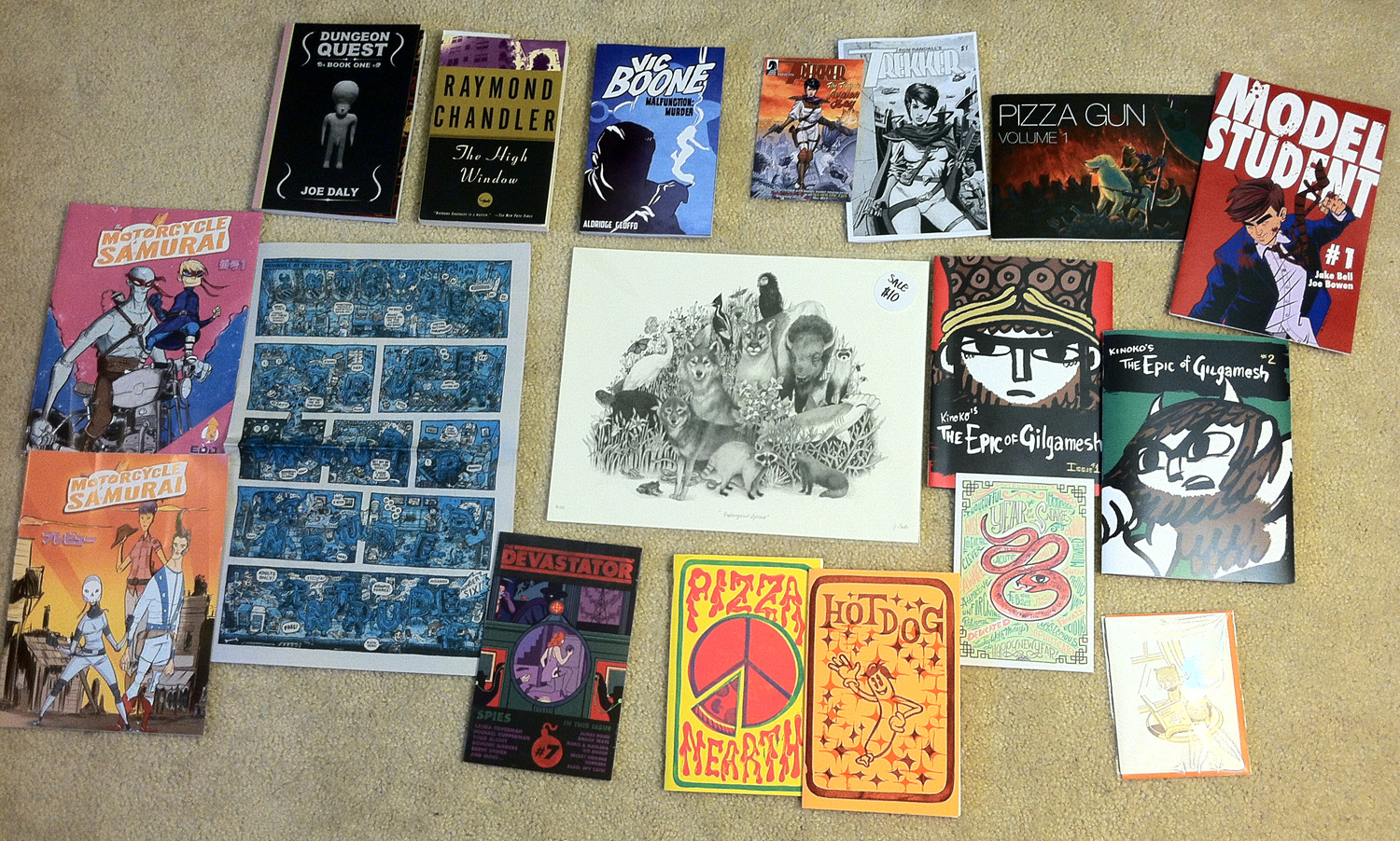 STCF 2013: The Haul