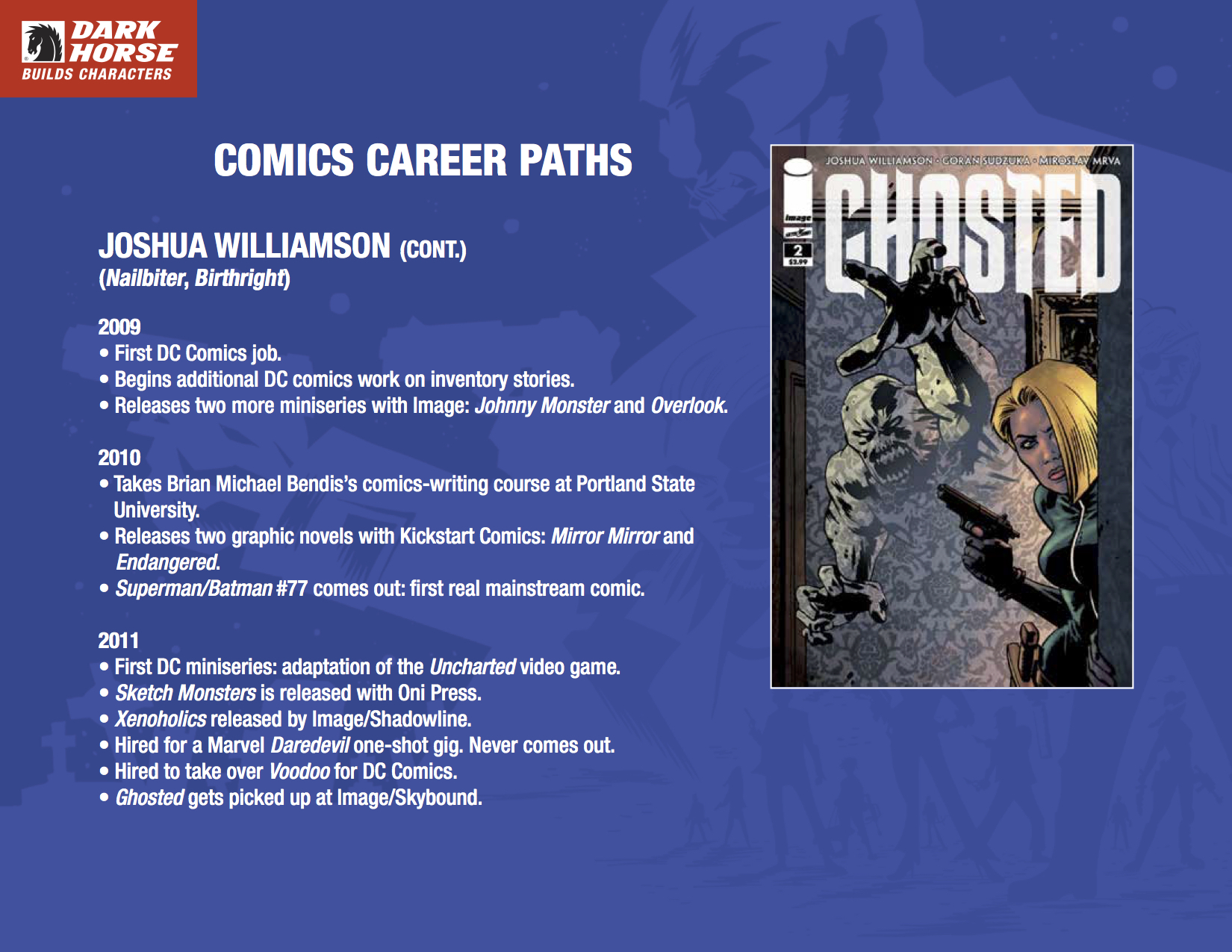 Breaking In: Advice on Starting a Career in Comics | Enemy